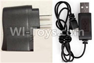 51-Straight conversion plug & USB Charger For SYMA X5 X5C Quadcopter parts,SYMA X5 X5C Parts