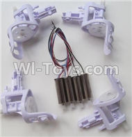 SYMA X5C Parts-63 Motor unit(4pcs) & Main motor(4pcs) For SYMA X5C Quadcopter parts,X5C UFO Parts