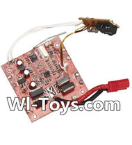 SYMA X8 X8C Parts-34 Receiver board,Circuit board For SYMA X8 X8C RC Quadcopter parts,FPV Camera UFO