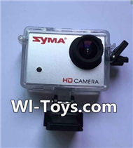 SYMA X8 X8C Parts-60 Official HD Camera unit(8,000,000 pixels,4GB Memory card)-Orange For SYMA X8 X8C RC Quadcopter parts,FPV Camera UFO