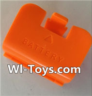 SYMA X8 X8C Parts-65 Battery cover-Orange For SYMA X8 X8C RC Quadcopter parts,FPV Camera UFO