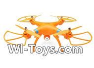 SYMA X8 X8C Parts-74 BNF-Orange(Not include the battery,Transmitter,Include the camera unit)) For SYMA X8 X8C RC Quadcopter parts,FPV Camera UFO