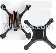 UDI U818S U842 U842-1 RC Quadcopter parts-01 Upper shell cover & Bottom shell cover-Black