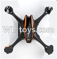 UDI U818S U842 U842-1 RC Quadcopter parts-02 Upper shell cover-Black