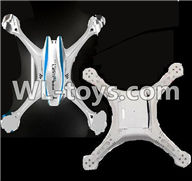 UDI U818S U842 U842-1 RC Quadcopter parts-06 Upper shell cover & Bottom shell cover-White