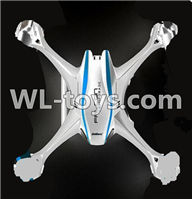 UDI U818S U842 U842-1 RC Quadcopter parts-07 Upper shell cover-White