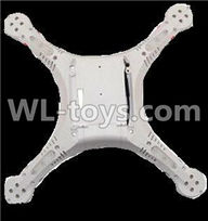 UDI U818S U842 U842-1 RC Quadcopter parts-08 Bottom shell cover-White