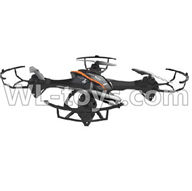 UDI U818S U842 U842-1 RC Quadcopter parts-32 BNF-Black(Only quadcopter,No battery,No charger,No transmitter)