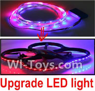 UDI U819 U819A Parts-21 Upgrade LED liight unit-More convenient to play at night,More beautiful for UDIR/C U819 U819A Quadcopter parts,rc Drone spare parts