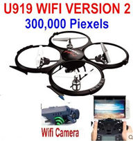 UDIR/C U919A Quadcopter(include the 300,000 Pixels Wifi camera unit, Not include the 3D VR Glassess) for UDIR/C U919 U919A Quadcopter parts,rc Drone spare parts