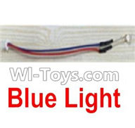 UDI U945 U945A Parts-25 Blue light For UDIR/C U945 U945A Six-axis aircraft Parts,rc Quadcopter drone parts