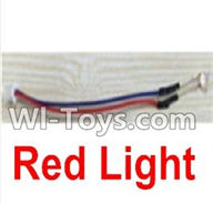 UDI U945 U945A Parts-26 Red light For UDIR/C U945 U945A Six-axis aircraft Parts,rc Quadcopter drone parts