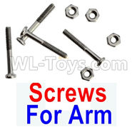 Visuo XS809HW XS809W Parts-Screws  Partsfor the Swing Arm