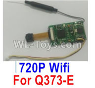 Wltoys Q373 Q373-B-E-C Parts-18-01 Q373E-03 720P WIFI(with line) camera board set,Wltoys Q373 Q373-B Q383-E Q383-C RC Hexacopter Quadcopter Drone Spare Parts Accessories,Wltoys Model Q373 Replacement Accessories