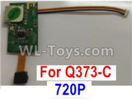 Wltoys Q373 Q373-B-E-C Parts-18-03 Q373C-03 720P 807F(with line)camera board,Wltoys Q373 Q373-B Q383-E Q383-C RC Hexacopter Quadcopter Drone Spare Parts Accessories,Wltoys Model Q373 Replacement Accessories