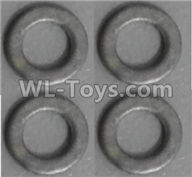 Wltoys Q373 Q373-B-E-C Parts-27-01 Q303-19 Gasket(4pcs),Wltoys Q373 Q373-B Q383-E Q383-C RC Hexacopter Quadcopter Drone Spare Parts Accessories,Wltoys Model Q373 Replacement Accessories