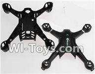 Wltoys Q242 Q242G DQ242 Q242K Parts-01 Upper and bottom shell body cover For WLTOYS DQ242 Q242 Q242G Q242K RC Quadcopter parts RC Drone parts