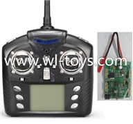 Wltoys Q202 Quadcopter parts-48 Transmitter & Circuit board