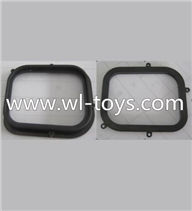Wltoys Q202 Quadcopter parts-67 Soft rubber for the Upper and Bottom cover(Total 2pcs)