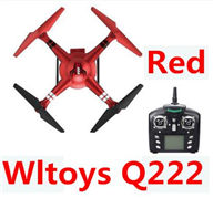 Wltoys Q222 Quadcopter-Red(Not include the Camera unit),Wltoys Q222RC Drone