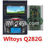 Wltoys Q282 parts-27 Transmitter And Circuit board(Include the 5.8G Image Return Display,Can only be used For Q282G Quadcopter) For WLTOYS Q282 RC Quadcopter parts RC Drone parts