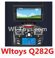 Wltoys Q282 parts-30 Transmitter(Include the 5.8G Image Return Display,Can only be used for Q282G Quadcopter) For WLTOYS Q282 RC Quadcopter parts RC Drone parts