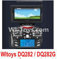 Wltoys Q282 parts-31 Transmitter(Include the 5.8G Image Return Display,Can only be used for DQ282G or DQ282 Quadcopter) For WLTOYS Q282 RC Quadcopter parts RC Drone parts