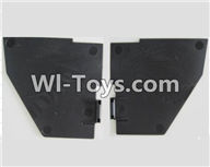 Wltoys Q282 Q282G Q282J parts-39 The left and Right Shading plate For WLTOYS Q282 RC Quadcopter parts RC Drone parts