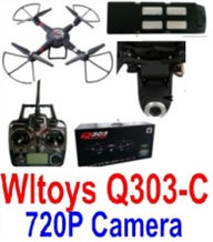 Wltoys Q303-C RC Quadcopter Drone(Include the Ordinary 2,000,000 Pixels Camera unit) Medium-Quadcopter-all FPV-Quadcopter-all