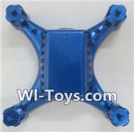 Wltoys Q343 Spare Parts-01-03 Bottom shell cover cover-Blue,Wltoys Q343 RC Quadcopter Drone Spare Parts Accessories,Wltoys Model Q343 Q343B Q343C Replacement Accessories