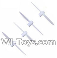 Wltoys Q343 Spare Parts-03-01 Propellers,Main rotor blades(4pcs),Wltoys Q343 RC Quadcopter Drone Spare Parts Accessories,Wltoys Model Q343 Q343B Q343C Replacement Accessories