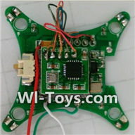 Wltoys Q343 Spare Parts-05 Circuit board,Receiver board,Wltoys Q343 RC Quadcopter Drone Spare Parts Accessories,Wltoys Model Q343 Q343B Q343C Replacement Accessories