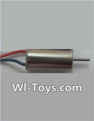 Wltoys Q343 Spare Parts-08 clockwise rotating Motor with Red and Blue wire(1pcs),Wltoys Q343 RC Quadcopter Drone Spare Parts Accessories,Wltoys Model Q343 Q343B Q343C Replacement Accessories