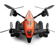 WLtoys Q353 RC Quadcopter,WLtoys Q353 RC Drone,UFO-RC QUADCOPTER WLtoys Q353 Aeroamphibious Air Land Sea Mode Headless Mode RC Quadcopter RTF 2.4GHz-Orange & Black Mini-Quadcopter-all FPV-Quadcopter-all Wltoys-Quadcopter-all