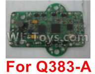 Wltoys Q383-A Parts-02 Q383-15 Circuit board(Only for Q383-A),Wltoys Q383 Q383-A Q383-B Q383-C RC Hexacopter Quadcopter Drone Spare Parts Accessories,Wltoys Model Q383 Replacement Accessories