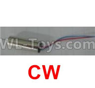Wltoys Q383-A Q383-B Q383-C Spare Parts-18-03 Main motor with Red and Blue wire(1pcs-CW,Clockwise),Wltoys Q383 Q383-A Q383-B Q383-C RC Hexacopter Quadcopter Drone Spare Parts Accessories,Wltoys Model Q383 Replacement Accessories