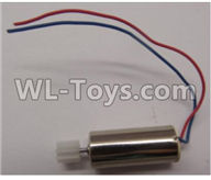 Wltoys Q616 Parts-20 Main motor with Red and Blue wire-L70 Version,Wltoys Q616 RC Quadcopter Drone Spare Parts Accessories,Wltoys Model Q616 Replacement Accessories