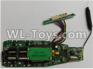Wltoys Q696 Parts-30-03 Q696-09 Circuit board,Receiver board,Wltoys Q696 RC Quadcopter Drone Spare Parts Accessories,Wltoys Model Q696 Replacement Accessories