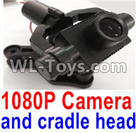Wltoys Q696 Parts-39 Q696-C-01 1080P camera unit with hollow cup cradle head group,Wltoys Q696 RC Quadcopter Drone Spare Parts Accessories,Wltoys Model Q696 Replacement Accessories