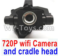 Wltoys Q696 Parts-40 Q696-E-001 720P WIFI Camera unit with hollow cup cradle head group,Wltoys Q696 RC Quadcopter Drone Spare Parts Accessories,Wltoys Model Q696 Replacement Accessories