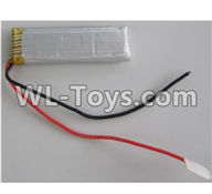Wltoys Q696 Parts-50 3.7V 500MAH 721855 Battery,Wltoys Q696 RC Quadcopter Drone Spare Parts Accessories,Wltoys Model Q696 Replacement Accessories