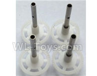 Wltoys-Q838-E Main gear with hollow pipe Parts(4pcs)-Q838-E-16,Wltoys Q838-E Parts,Wltoys Q838-E RC Drone Parts