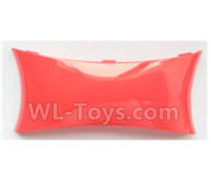 Wltoys-Q838-E Main body cover fitting Parts-Red-Q838-E-08,Wltoys Q838-E Parts,Wltoys Q838-E RC Drone Parts