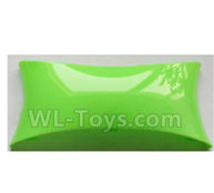 Wltoys-Q838-E Main body cover fitting Parts-Green-Q838-E-09,Wltoys Q838-E Parts,Wltoys Q838-E RC Drone Parts
