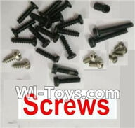 Wltoys V950 Spare-Parts-09 Screws set,Wltoys V950 RC Helicopter Spare Parts Brushless Wltoys V950 Parts Replacement Accessories