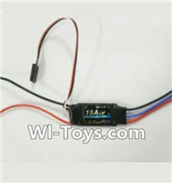 Wltoys V950 Spare-Parts-21 15A ESC,Wltoys V950 RC Helicopter Spare Parts Brushless Wltoys V950 Parts Replacement Accessories