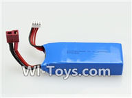 Wltoys V950 Spare-Parts-34-01 11.1V 1500MAH Battery(1PCS),Wltoys V950 RC Helicopter Spare Parts Brushless Wltoys V950 Parts Replacement Accessories