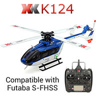 XK K124 helicopter EC145 6CH Flybarless RC Helicopter For XK K124 helicopter Spare parts,EC145 6CH Flybarless RC Helicopter parts wltoys-helicopter-all 6-channel-helicopter-all Single-blade-helicopter Mini-helicopter