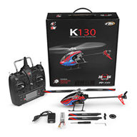 XK K130 rc helicopter K-130 2.4G 6CH Brushless Flybarless Helicopter