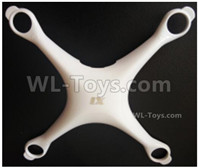 Wltoys XK X1 Parts-Uppger body shell cover-X1-01,Wltoys XK X1 Drone Parts,XK X1 Quadcopter Parts